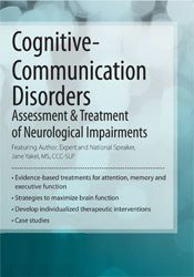 Image ofCognitive-Communication Disorders: Assessment & Treatment of Neurologi