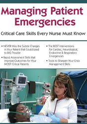 Image of Managing Patient Emergencies: Critical Care Skills Every Nurse Must Kn