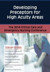 Image of Developing Preceptors for High Acuity Areas