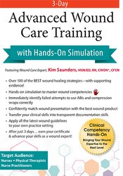 Image of Certificate Course in Wound Care: Intensive 3-Day Boot Camp with Hands