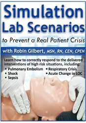 Image of Simulation Lab Scenarios to Prevent a Real Patient Crisis
