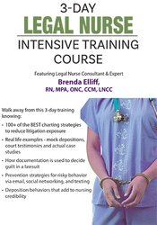 Image of Certificate in Legal Nursing Documentation: Intensive 3-Day Boot Camp