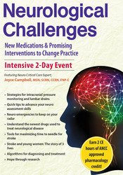 Image of 2-Day Neurological Challenges: New Medications & Promising Interventio