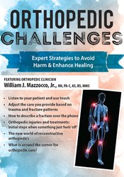 Image of Orthopedic Challenges: Expert Strategies to Avoid Harm & Enhance Heali