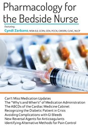 Pharmacology for The Bedside Nurse 1