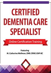 Image of 2 Day: Certified Dementia Care Specialist