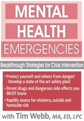 Mental Health Emergencies: Breakthrough Strategies for Crisis Intervention 1