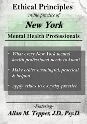 Ethical Principles in the Practice of New York Mental Health Professionals 1