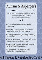 Autism & Asperger's: Proven Techniques to Achieve Social and Academic Success in Children & Adolescents 1
