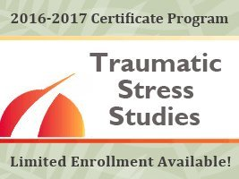 Certificate Program in Traumatic Stress Studies