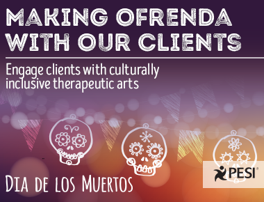 Making Ofrenda With Our Clients