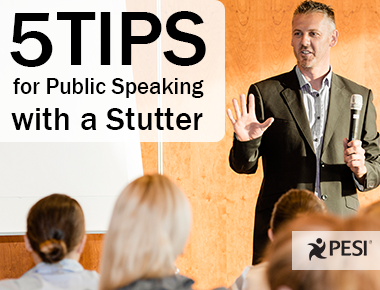 5 Tips for Public Speaking with a Stutter