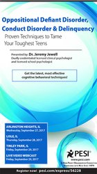 Image ofOppositional, Defiant Disorder, Conduct Disorder & Delinquency: Proven