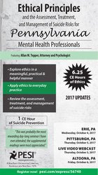 Image ofEthical Principles in the Practice of Pennsylvania Mental Health Profe