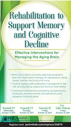 Image ofRehabilitation to Support Memory and Cognitive Decline: Effective Inte