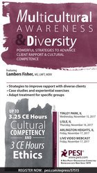 Image ofMulticultural Awareness & Diversity: Powerful Strategies to Advance Cl