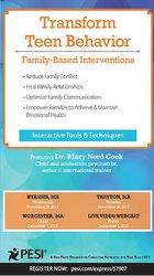 Image ofTransform Teen Behavior: Family-Based Interventions