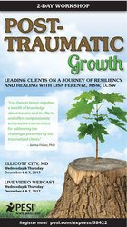Image of2-Day: Post-Traumatic Growth: Leading Clients on a Journey of Resilien