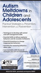 Image ofAutism Meltdowns in Children and Adolescents: Practical Strategies for