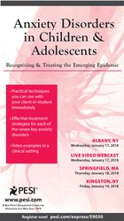 Image ofAnxiety Disorders in Children & Adolescents: Recognizing and Treating