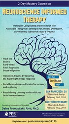 Image of2-Day Mastery Course on Neuroscience Informed Therapy