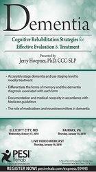 Image ofDementia: Cognitive Rehabilitation Strategies for Effective Evaluation