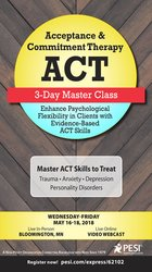 Image ofAcceptance & Commitment Therapy (ACT) 3-Day Master Class: Enhance Psyc