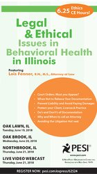 Image ofLegal and Ethical Issues in Behavioral Health in Illinois