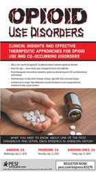 Opioid Use Disorders: Clinical Insights and Effective Therapeutic Appr
