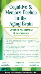 Image ofCognitive & Memory Decline in the Aging Brain: Effective Assessment &