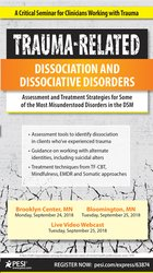 Image ofTrauma-Related Dissociation and Dissociative Disorders: Assessment and