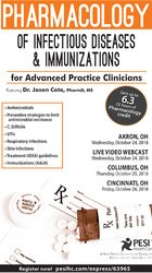 Image ofPharmacology of Infectious Diseases & Immunizations for Advanced Pract