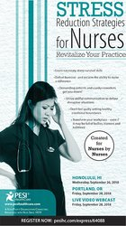 Image ofStress Reduction Strategies for Nurses: Revitalize Your Practice