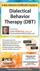 Image ofDialectical Behavior Therapy (DBT): 4-day Intensive Certificate Course