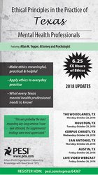 Image ofEthical Principles in the Practice of Texas Mental Health Professional