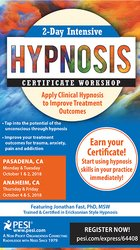 Image of2-Day Intensive Hypnosis Certificate Workshop: Apply Clinical Hypnosis