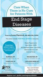 Image ofCare When There is No Cure for Patients with End Stage Diseases