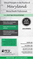 Image ofEthical Principles in the Practice of Maryland Mental Health Professio