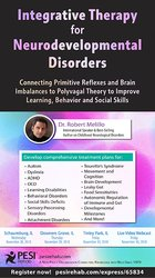 Image ofIntegrative Therapy for Neurodevelopmental Disorders: Connecting Primi