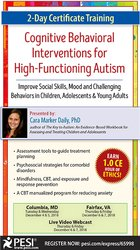 2-Day Certificate Training in Cognitive Behavioral Interventions for H