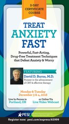 Image of Treat Anxiety Fast: 2-Day Certificate Course