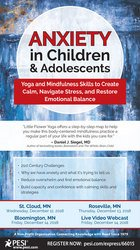 Image ofAnxiety in Children & Adolescents: Yoga and Mindfulness Skills to Crea