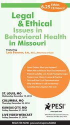 Image ofLegal and Ethical Issues in Behavioral Health in Missouri