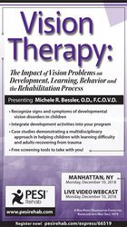 Image ofVision Therapy: The Impact of Vision Problems on Development, Learning