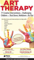 Art Therapy: 77 Creative Interventions for Challenging Children who Sh