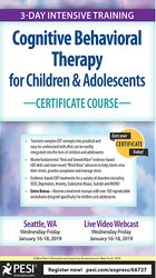 Image ofCognitive Behavioral Therapy for Children & Adolescents Certificate Co
