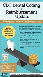 Image ofCDT Dental Coding & Reimbursement Update: Identifying Common Practice