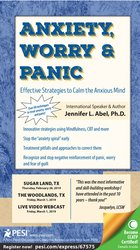 Image ofAnxiety, Worry & Panic: Effective Strategies to Calm the Anxious Mind