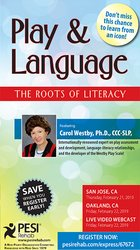 Image ofPlay & Language: The Roots of Literacy