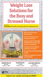 Image ofWeight Loss Solutions for the Busy and Stressed Nurse
